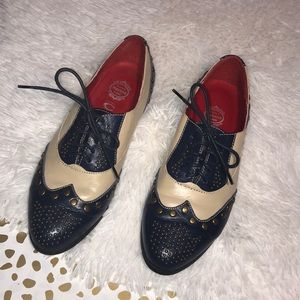 Jeffrey Campbell Capone studded Oxfords